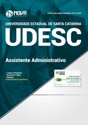 Apostila UDESC - Técnico Universitário de Suporte Função: Assistente Administrativo