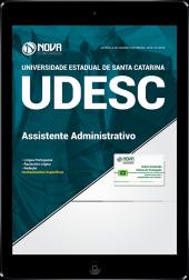 Download Apostila UDESC - Técnico Universitário de Suporte Função: Assistente Administrativo (PDF)