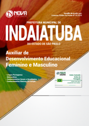 Apostila Prefeitura de Indaiatuba - SP - Auxiliar de Desenvolvimento Educacional (Feminino e Masculino)