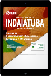Download Apostila Prefeitura de Indaiatuba - SP - Auxiliar de Desenvolvimento Educacional (Feminino e Masculino) (PDF)