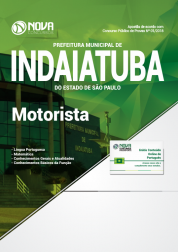 Apostila Prefeitura de Indaiatuba - SP - Motorista