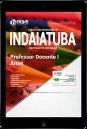 Download Apostila Prefeitura de Indaiatuba - SP - Professor Docente I - Artes (PDF)