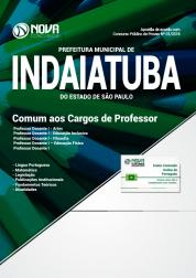 Apostila Prefeitura de Indaiatuba - SP - Comum aos Cargos de Professor