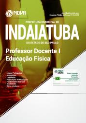 Apostila Prefeitura de Indaiatuba - SP - Professor Docente I - Educação Física