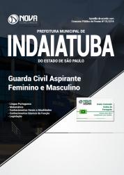 Apostila Prefeitura de Indaiatuba SP - Guarda Civil (Feminino e Masculino)