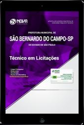 Download Apostila Prefeitura de São Bernardo do Campo - SP - Técnico em Licitações (PDF)