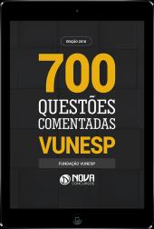 Ebook de Questões Comentadas VUNESP (PDF)