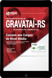 Download Apostila Prefeitura de Gravataí - RS - Comum aos Cargos de Nível Médio (PDF)