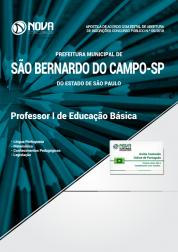 Apostila Prefeitura de São Bernardo do Campo - SP - Professor I de Educação Básica