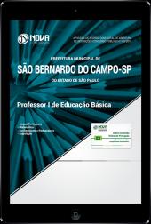 Download Apostila Prefeitura de São Bernardo do Campo - SP - Professor I de Educação Básica (PDF)