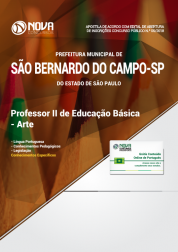 e9e50e101 Apostila Prefeitura de São Bernardo do Campo - SP - Professor II de  Educação Básica ...