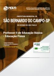 Apostila Prefeitura de São Bernardo do Campo - SP - Professor II de Educação Básica - Educação Física