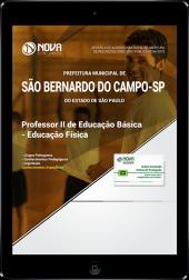 Download Apostila Prefeitura de São Bernardo do Campo - SP - Professor II de Educação Básica - Educação Física (PDF)