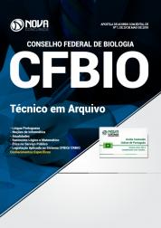 Apostila CFBIO - Técnico em Arquivo