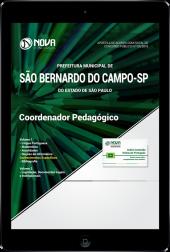 Download Apostila Prefeitura de São Bernardo do Campo - SP - Coordenador Pedagógico (PDF)