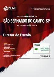 Apostila Prefeitura de São Bernardo do Campo - SP - Diretor de Escola