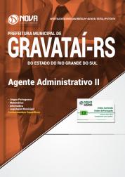 Apostila Prefeitura de Gravataí - RS - Agente Administrativo II