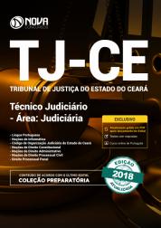 Apostila TJ-CE - Técnico Judiciário - Área: Judiciária