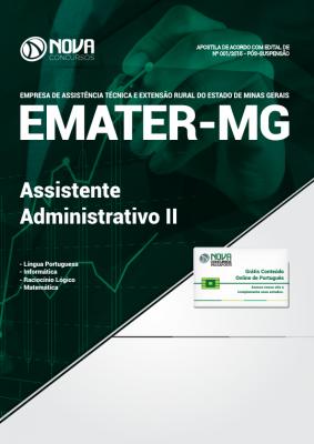 Apostila EMATER-MG - Assistente Administrativo II