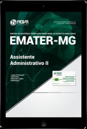 Download Apostila EMATER-MG - Assistente Administrativo II (PDF)