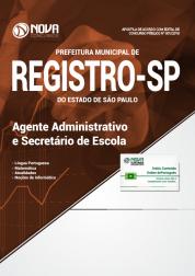 Apostila Prefeitura de Registro - SP - Agente Administrativo e Secretário de Escola