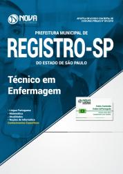Apostila Prefeitura de Registro - SP - Técnico em Enfermagem
