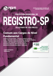 Apostila Prefeitura de Registro - SP - Comum aos Cargos de Nível Fundamental