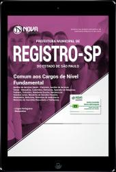 Download Apostila Prefeitura de Registro - SP - Comum aos Cargos de Nível Fundamental (PDF)