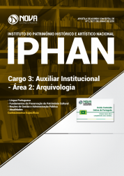 Apostila IPHAN - Cargo 3: Auxiliar Institucional - Área 2: Arquivologia