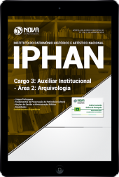Download Apostila IPHAN - Cargo 3: Auxiliar Institucional - Área 2: Arquivologia (PDF)