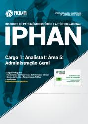 Apostila IPHAN - Cargo 1: Analista I - Área 5: Administração Geral