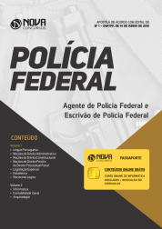 Apostila Agente e Escrivão da Polícia Federal (PF)