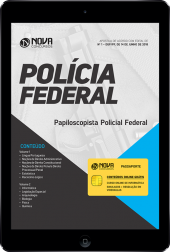 Download Apostila Papiloscopista da Polícia Federal (PF) (PDF)