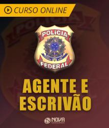 Curso Online Intensivão - Agente e Escrivão da Polícia Federal