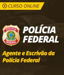 Pacote Completo Agente e Escrivão de Polícia Federal