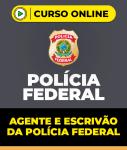 Curso Agente e Escrivão da Polícia Federal - 2 em 1