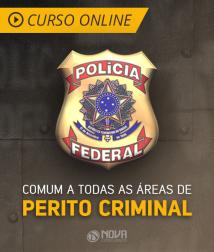 Curso Online Intensivão - Comum a Todas as Áreas de Perito Criminal da Polícia Federal