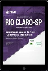 Download Apostila Prefeitura de Rio Claro - SP - Comum aos Cargos de Nível Fundamental Incompleto (PDF)