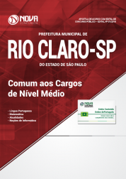 Apostila Prefeitura de Rio Claro - SP - Comum aos Cargos de Nível Médio