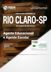 Apostila Prefeitura de Rio Claro - SP - Agente Educacional e Agente Escolar