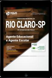 Download Apostila Prefeitura de Rio Claro - SP - Agente Educacional e Agente Escolar (PDF)