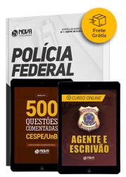 Combo Agente e Escrivão da Polícia Federal (PF) - Frete Grátis