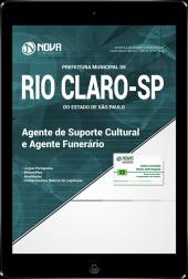 Download Apostila Prefeitura de Rio Claro - SP - Agente de Suporte Cultural e Agente Funerário (PDF)