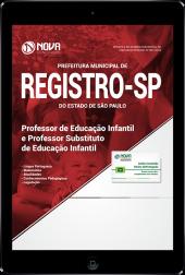Download Apostila Prefeitura de Registro - SP - Professor de Educação Infantil e Professor Substituto de Educação Infantil (PDF)