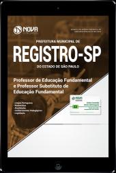 Download Apostila Prefeitura de Registro - SP - Professor de Educação Fundamental e Professor Substituto de Educação Fundamental (PDF)