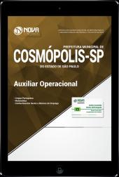 Download Apostila Prefeitura de Cosmópolis - SP - Auxiliar Operacional (PDF)