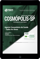 Download Apostila Prefeitura de Cosmópolis - SP - Agente Comunitário de Saúde (Todas as Áreas) (PDF)