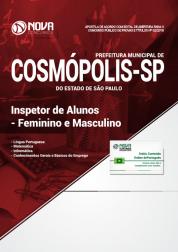 Apostila Prefeitura de Cosmópolis - SP - Inspetor de Alunos - Feminino e Masculino