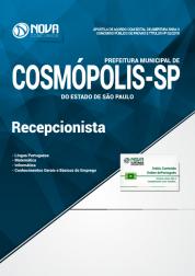 Apostila Prefeitura de Cosmópolis - SP - Recepcionista