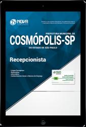 Download Apostila Prefeitura de Cosmópolis - SP - Recepcionista (PDF)